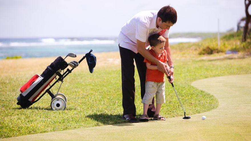 When and How to Teach your Child Golfing