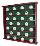 Golf Gifts and Gallery display case